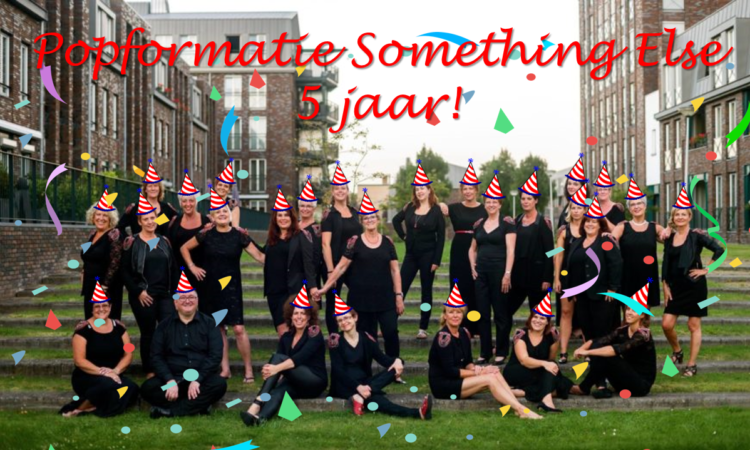 SOMETHING ELSE 5 JAAR